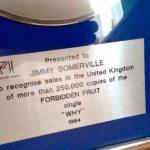 BPI Sales Award Bronski Beat Why