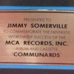 MCA - US Sales Award The Communards