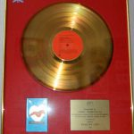 BPI Sales Award Jimmy Somerville Read My Lips Disk