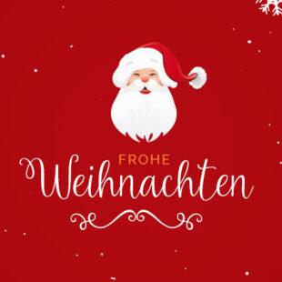 Frohe Weihnachten….